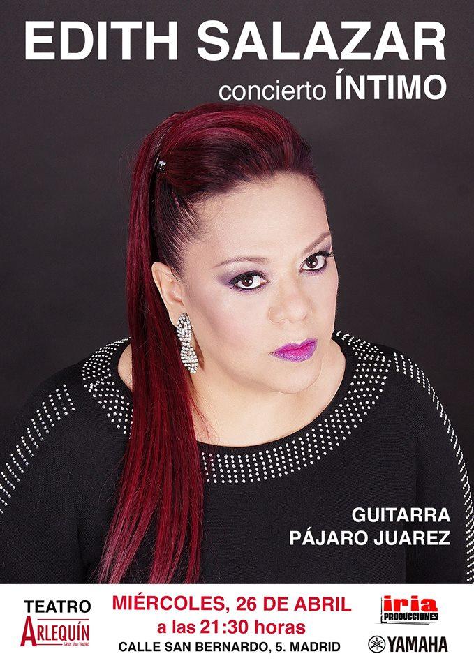 Edith Salazar, concierto íntimo